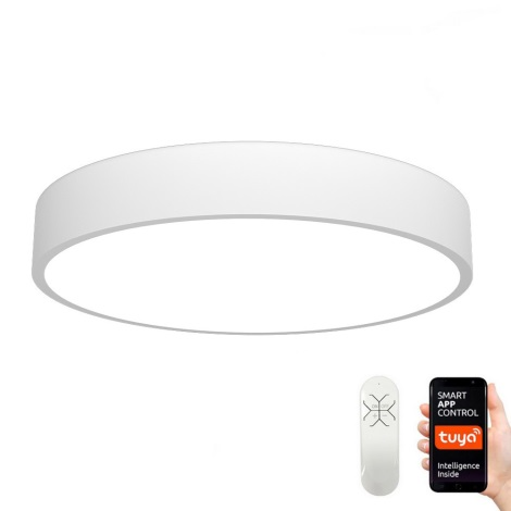 Immax NEO 07028L - Світлодіодний стельовий світильник з регульованою яскравістю RONDATE LED/65W/230V + ПУ Tuya