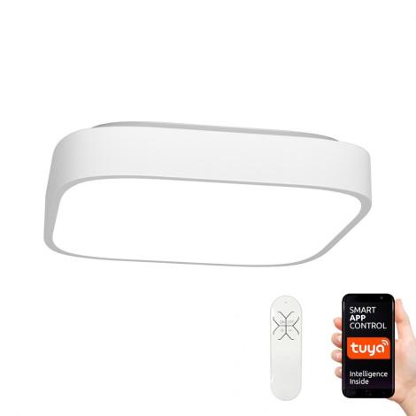 Immax NEO 07040L - Світлодіодний стельовий світильник з регульованою яскравістю RECUADRO LED/56W/230V + Д/К Tuya