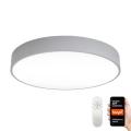 Immax NEO 07143-GR80 - Стельовий LED світильник з регулюванням яскравості RONDATE LED/65W/230V Tuya сірий + дистанційне керування