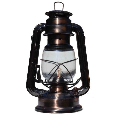 Парафінова лампа мідь
