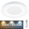Rabalux -  Стельовий LED світильник з регулюванням яскравості LED/38W/230V білий + ДК 3000-6500K
